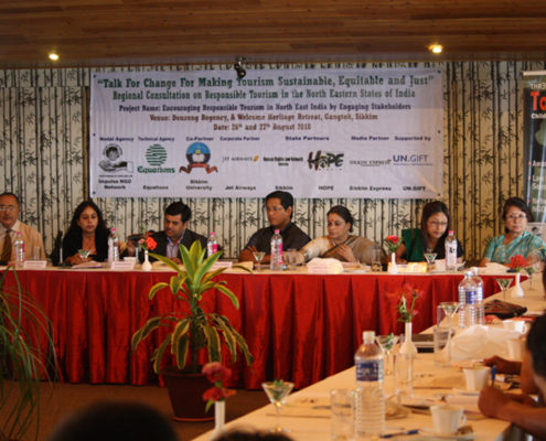 North East India Regional Consultation on Responsible Tourism