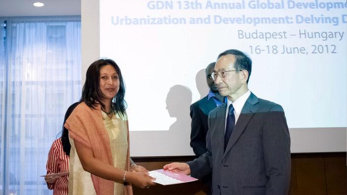 Hasina Kharbhih - GDN Awards Budapest 2012