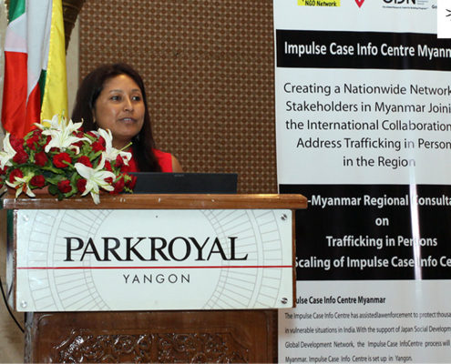 Hasina Kharbhih, Chair of Board, Impulse NGO Network