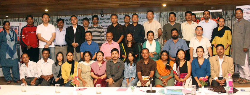 Impulse Model, Partnerships | Participants at the Regional Consultation on Responsible Tourism in the North Eastern States of India