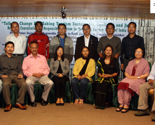 Impulse NGO Network's State Partners in the northeast, at the Regional Consultation on Responsible Tourism