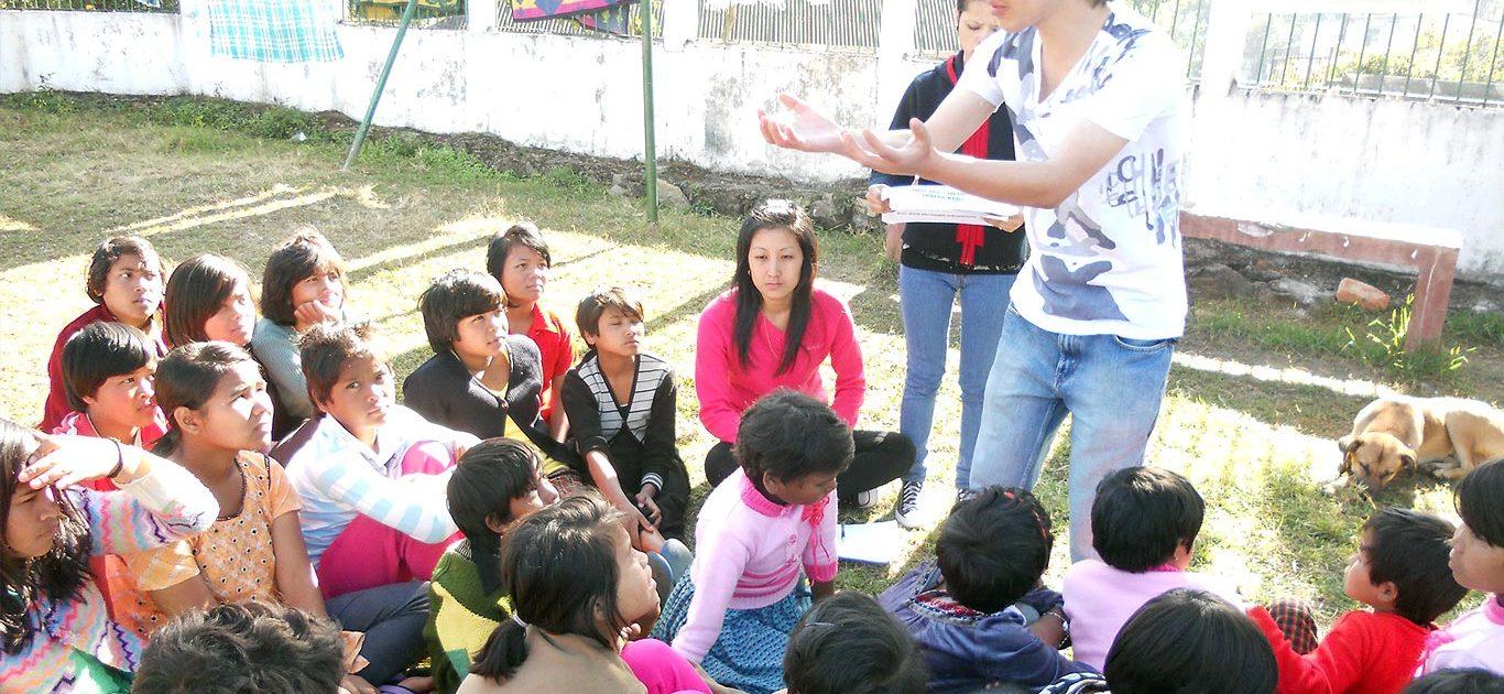 Awareness Drive by Impulse NGO interns, on Child Trafficking