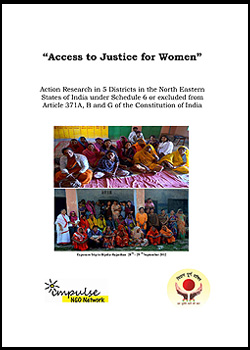 Access to Justice for Women in 5 Districts of North East India