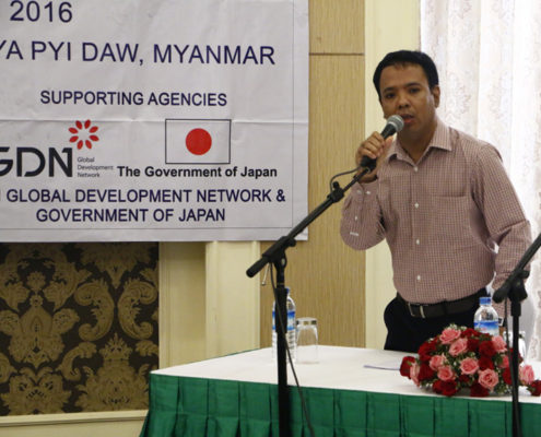 U Sein Win - Training Director, and Myanmar Journalist