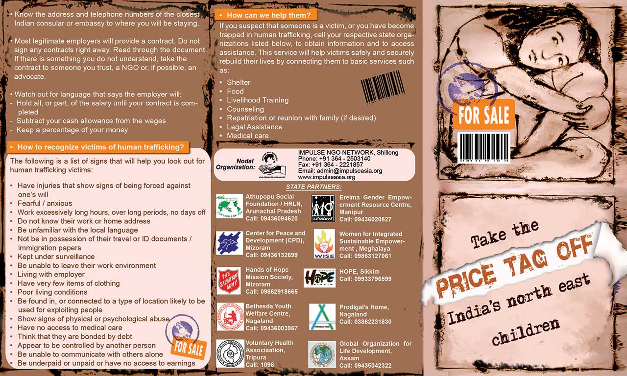 Girls for Sale UNIFEM Leaflet on Safety for Girls 2010 11