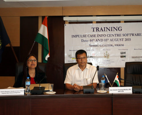 Impulse Case Info Centre Software Training - Gangtok, Sikkim