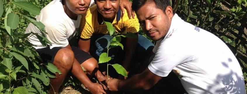 Tree Plantation & Anti Human-Trafficking Drive with Ebong Amra