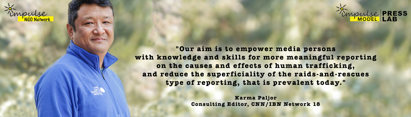 Karma Paljor, Core Committee Leader, Consulting Editor CNN News 18